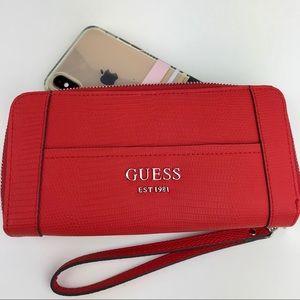 GUESS Zip around wallet